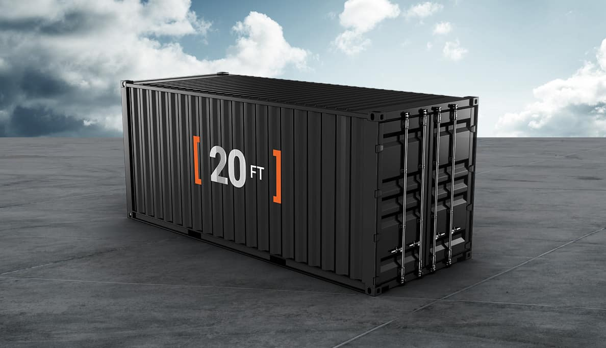 20 Feet Container (FCL) with Truck