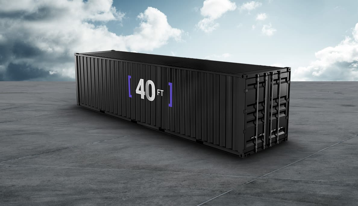 40 Feet Container (FCL) with Truck