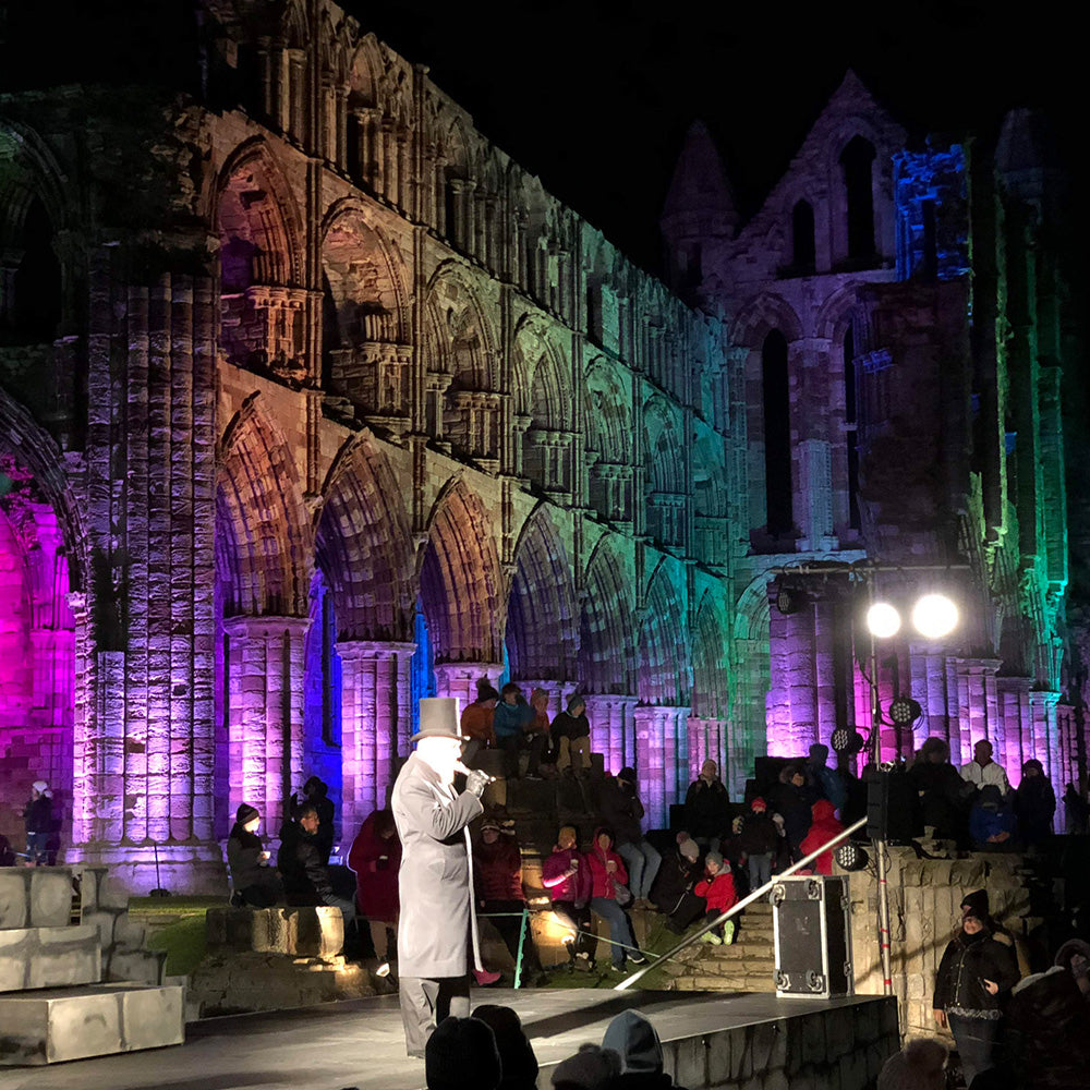 Halloween Hunting Part 1! Whitby Abbey Illuminated & Other Festivities!