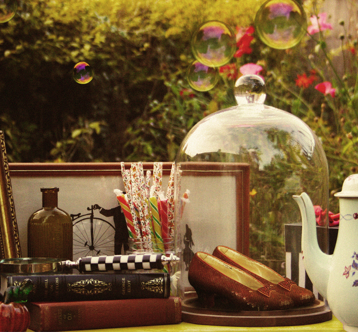 Wizard of Oz-Inspired Afternoon Tea Event