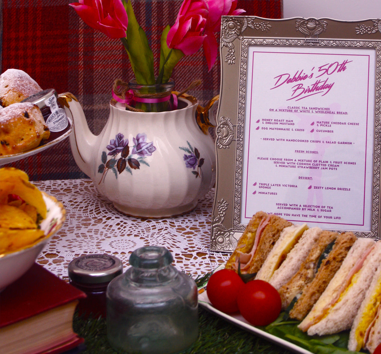 Dirty Dancing-Inspired Afternoon Tea