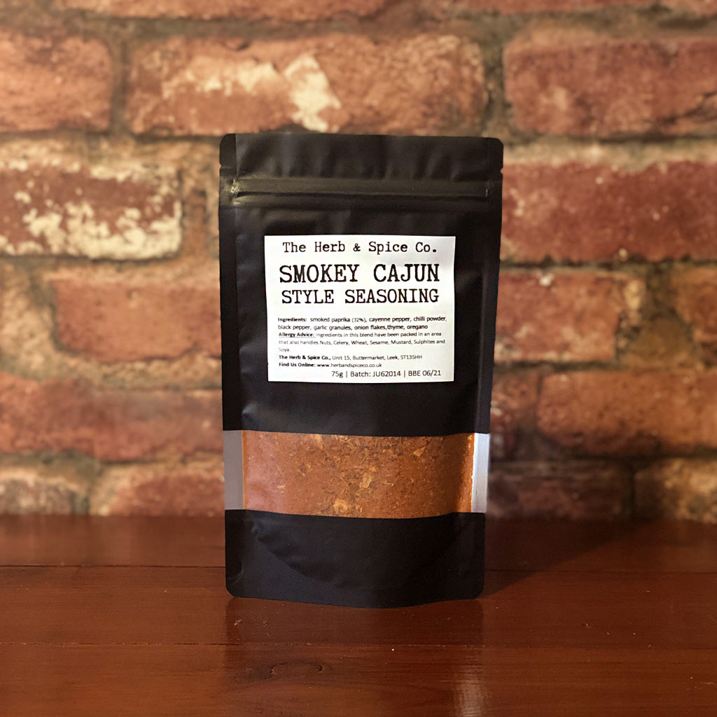 This Smokey Cajun Style Seasoning from The Herb & Spice Co. is a team fave! A super versatile seasoning, this can be used as a chicken or fish rub; is great on wedges or fries before cooking; and even fab to add a kick to your rice dishes! Our favourite is for use on our chicken wraps... mmm.