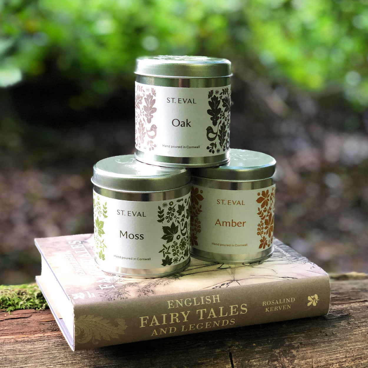 The collection of wild Oak, fresh Moss and honeyed Amber scented candles will engender great folk stories, awaken imaginations and stir creative souls.