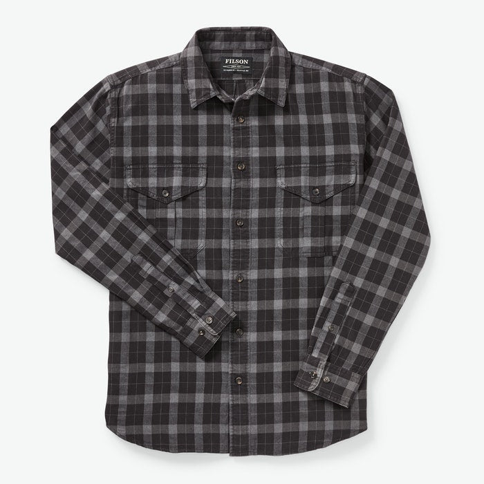 Light Weight Alaskan Guide Shirt - Heather Black