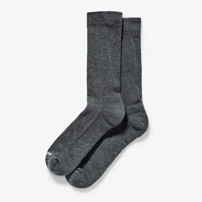 everyday crew sock - Charcoal