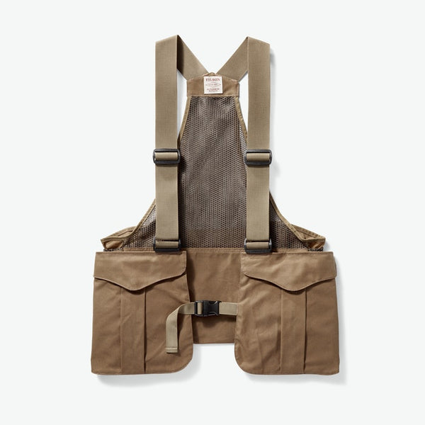LIVINGSTON GUNDOGS FILSON MESH GAME BAG - TAN