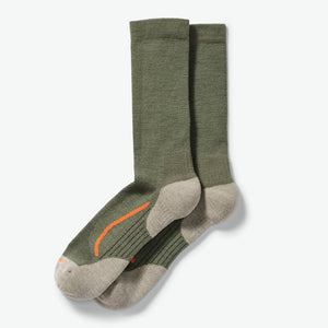 x country outdoorsman sock - Green Blaze