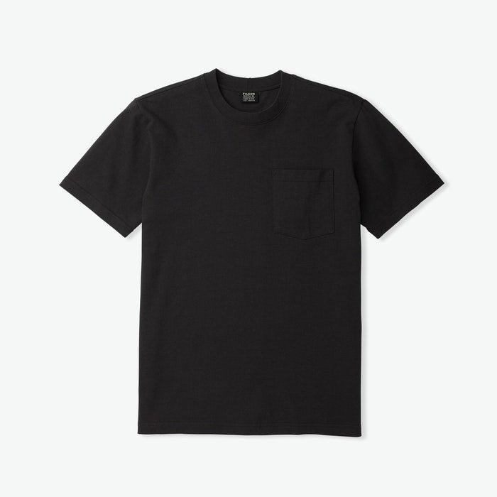 S S Outfitter Solid One Pocket T Shirt - Faded Black