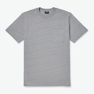 S S Outfitter Solid One Pocket T Shirt - Grey Heather