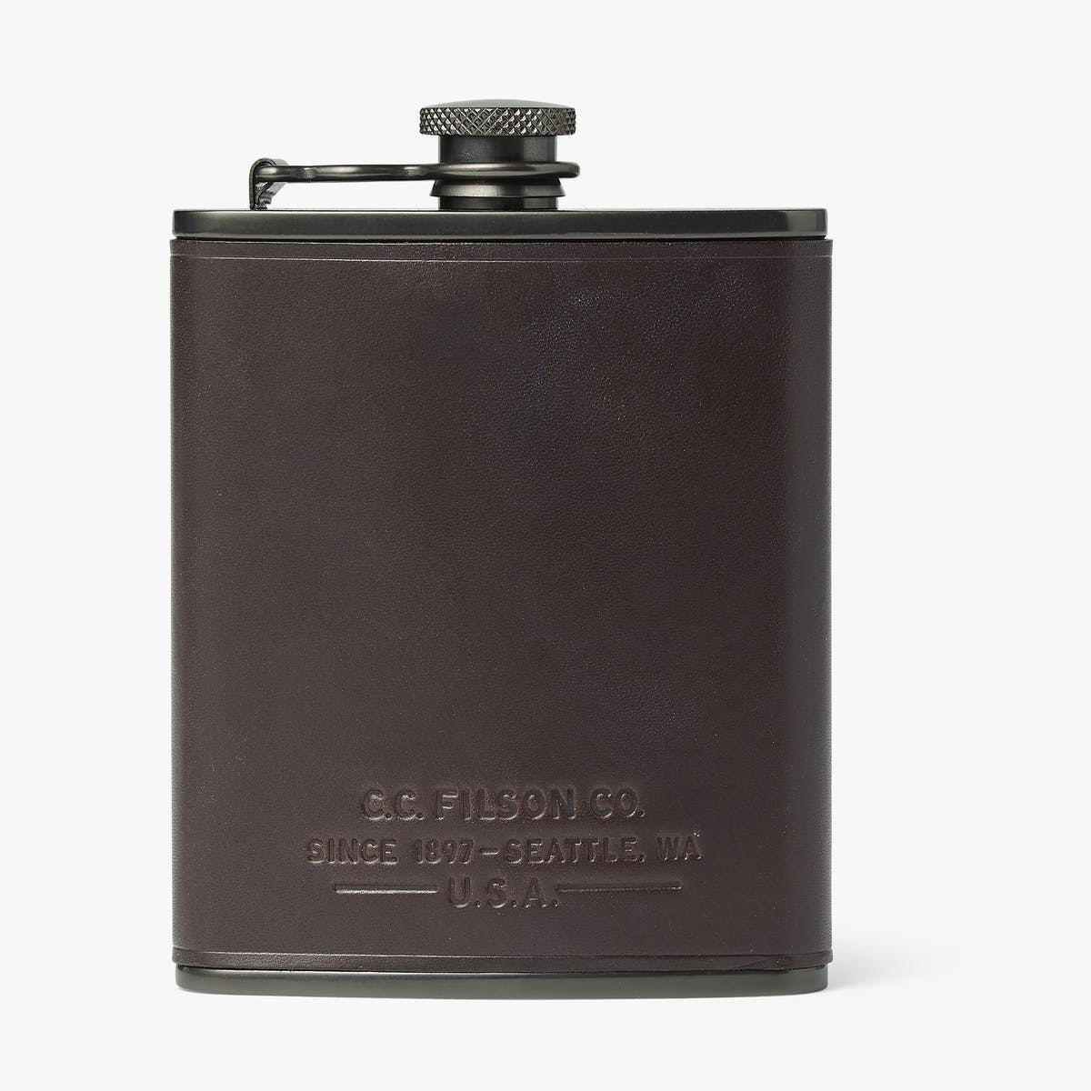 TRUSTY FLASK - DARK CEDAR - ONE SIZE