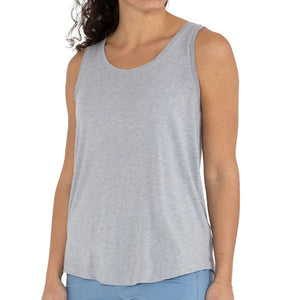 Women's Bamboo Heritage Tank - Heather Grey
