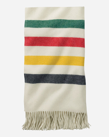 5TH AVENUE GLACIER PARK MERINO THROW