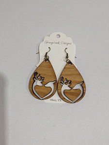 Springcreek Design Earrings by Laci Tate - Buck and Doe