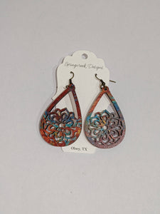 Springcreek Design Earrings by Laci Tate - Color Pop Flower