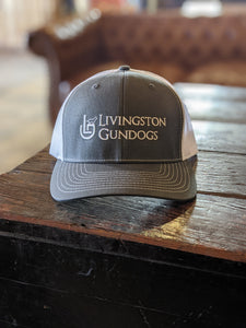 Livingston Gundogs grey-white trucker hat