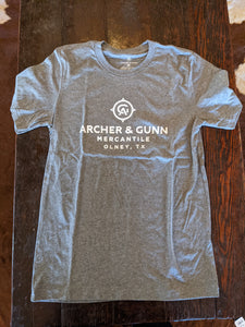 Archer & Gunn  - Store Front Short Sleeve T - Heather Gray