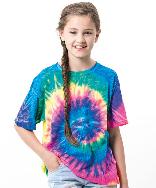 New - Colour Burst Range of kids T-shirts and bags