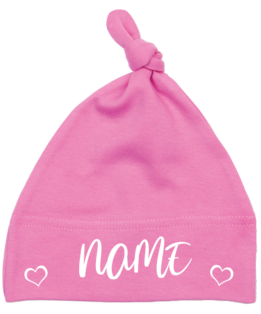 Personalised Baby Hat - Pink