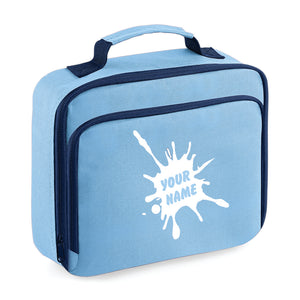 Personalised Lunch Bag - Blue