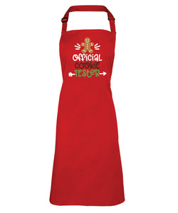 Christmas Apron (Official Cookie Taster)