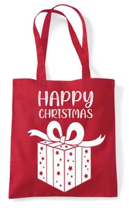 Christmas Tote Bag (Happy Christmas)