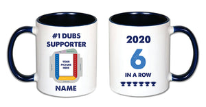 Dubs 6 in a Row Personalised Mug