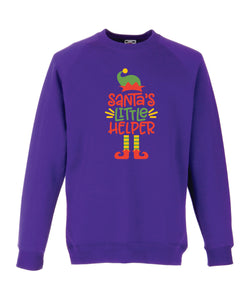 Kids Christmas Sweatshirt (Santa's Little Helper)
