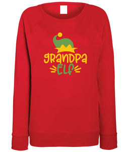 Men's Christmas Sweatshirt (Grandpa Elf)