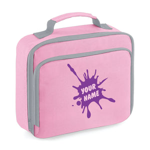 Personalised Lunch Bag - Pink