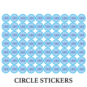 Customised Stickers (Circles)