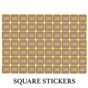Customised Stickers (Squares)