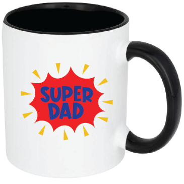 Fathers Day Mug - Super Dad