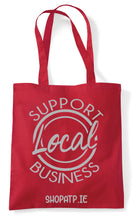 Load image into Gallery viewer, Christmas Tote Bag (Shop Local)