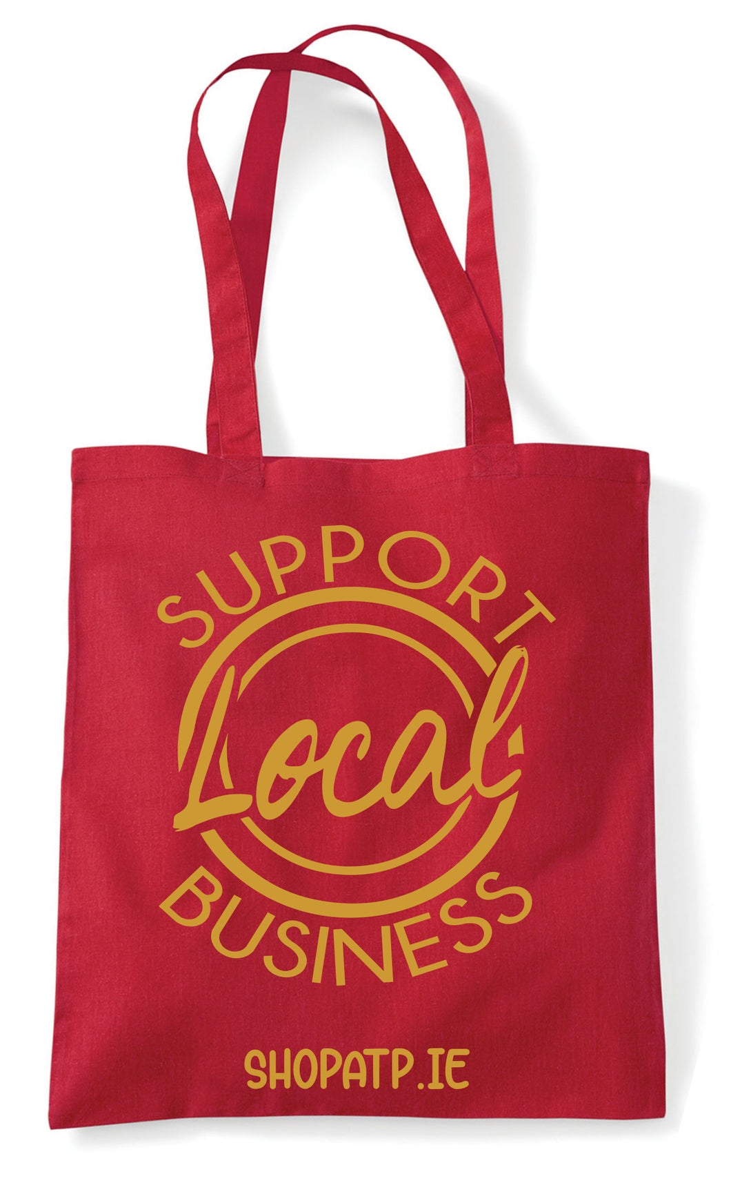 Christmas Tote Bag (Shop Local)