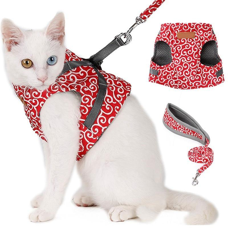 Cat Vest Harness and Leash My Gorgeous Pet