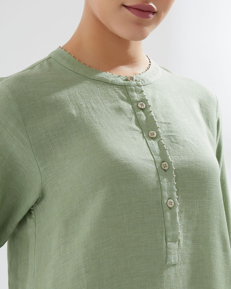 Pistachio 1st Intertwined SS20 Tunic With Pants