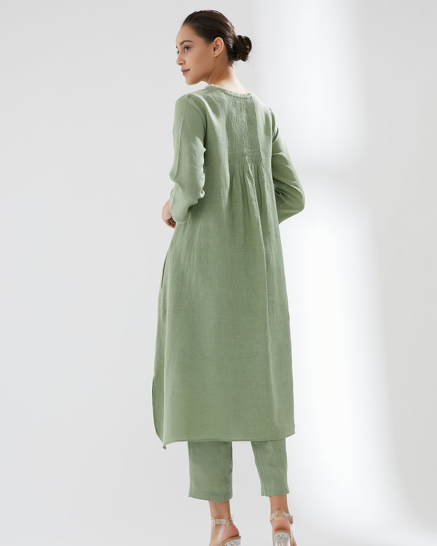Pistachio 9th Intertwined SS20 Tunic With Pants