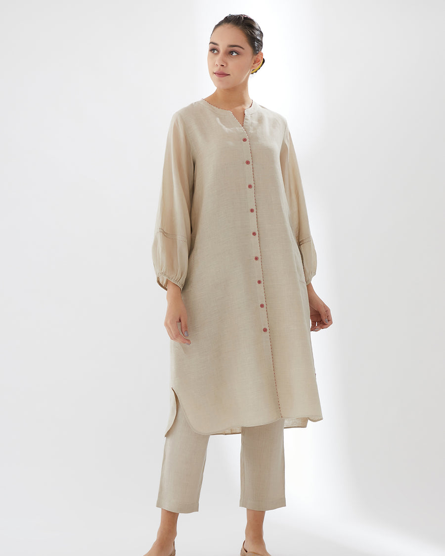 Sand 13th Intertwined SS20 Tunic with Pants