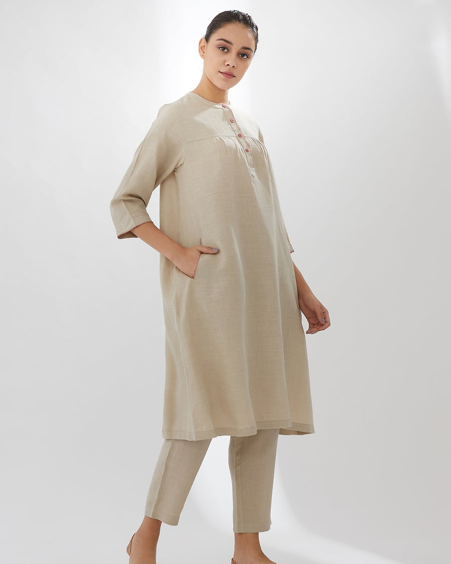 Sand 6th Intertwined SS20 Tunic with Pants