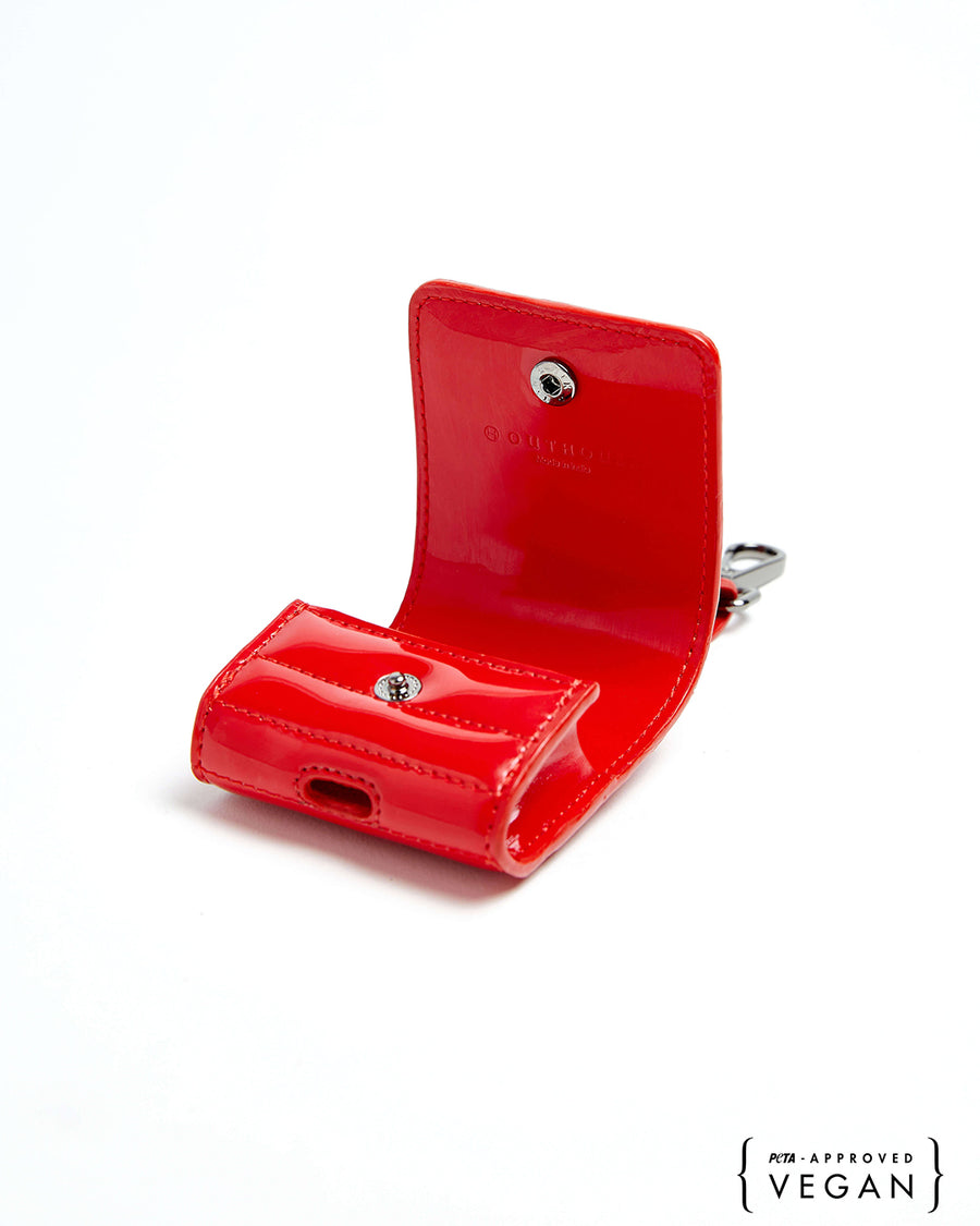 The OH V Birdy AirPods Case - Scarlet Red