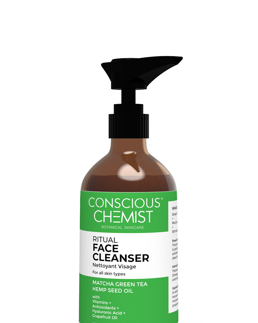 Matcha Hemp Face Cleanser