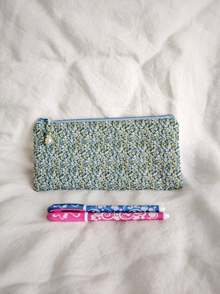 Blue-Green Pepper Pencil Case