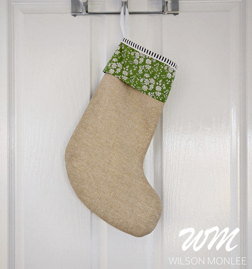 Christmas Stocking - Green Capel