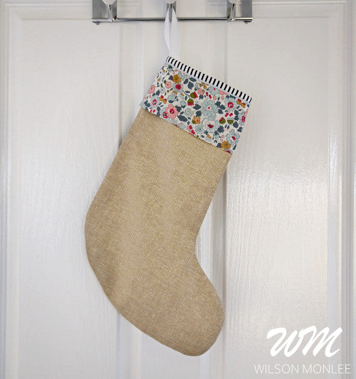 Christmas Stocking - Grey Betsy