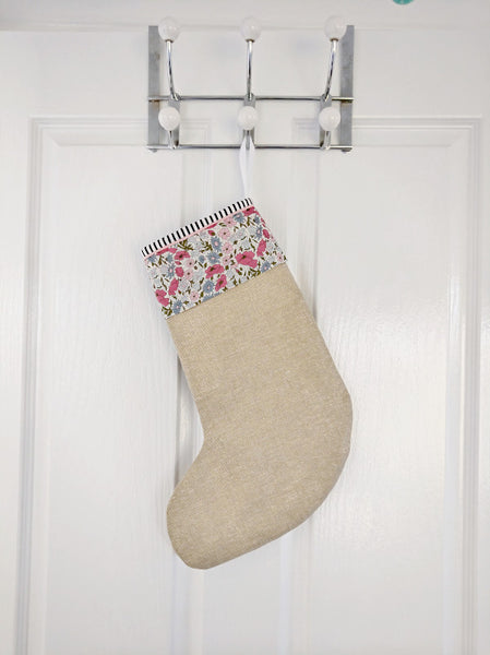 Christmas Stocking - Poppy and Daisy