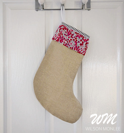 Christmas Stocking - Red Wiltshire