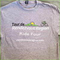 Tour de Rendezvous Region T-Shirt
