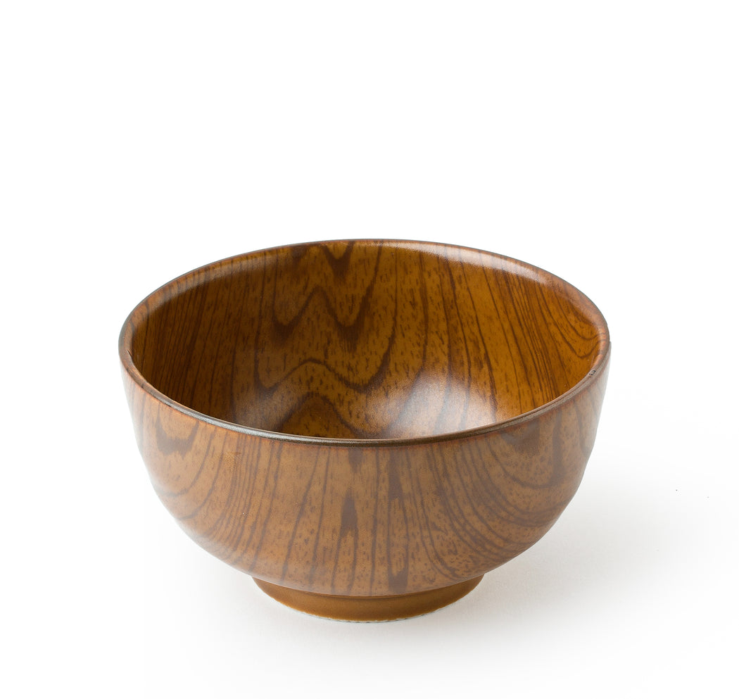 Wood Design Ceramic Bowl MIYA Company Rice Sushi Bowl