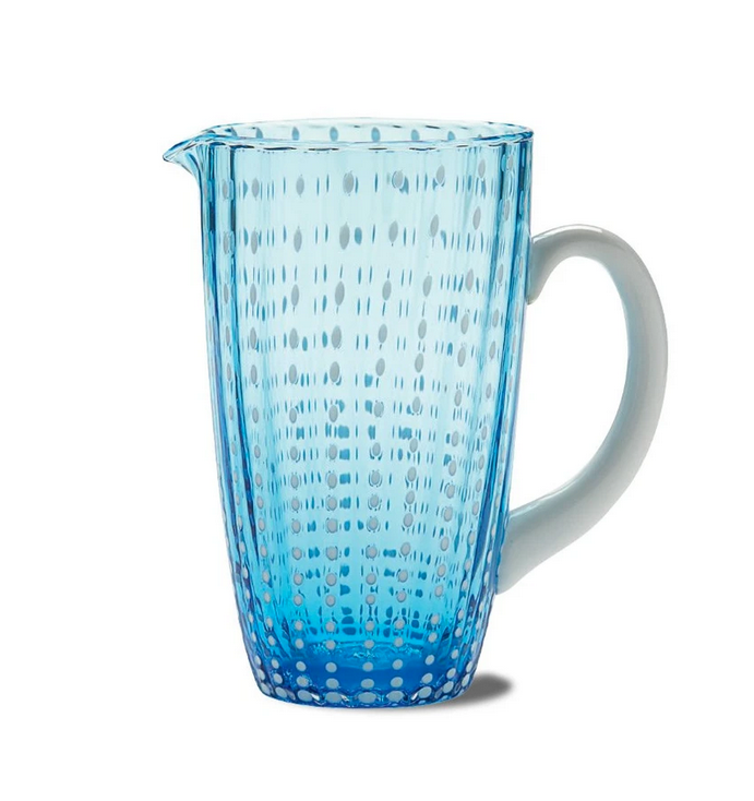 Zafferano Perle Pitcher Aqua