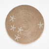 Starfish Placemat Natural Fibers